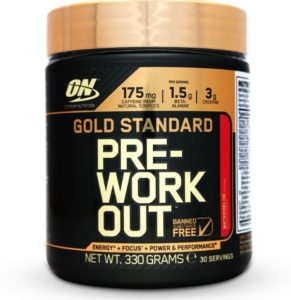 Optimum Nutrition Gold Standard Pre-Workout Review - True Health Diary
